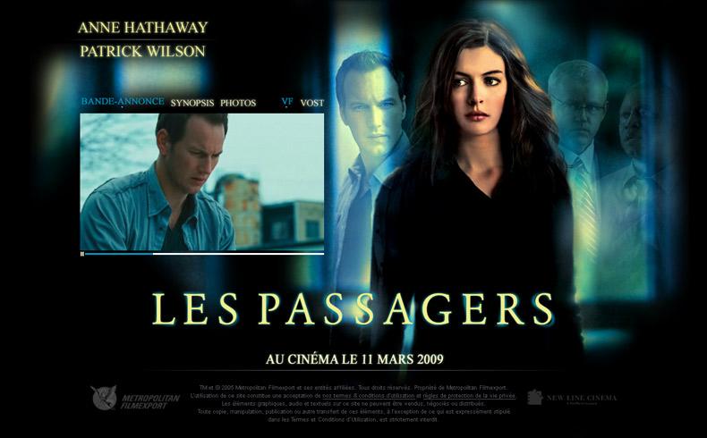Les passagers, Le film