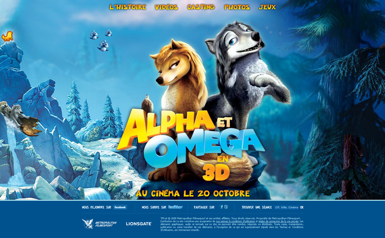 Alpha & Omega - 3D